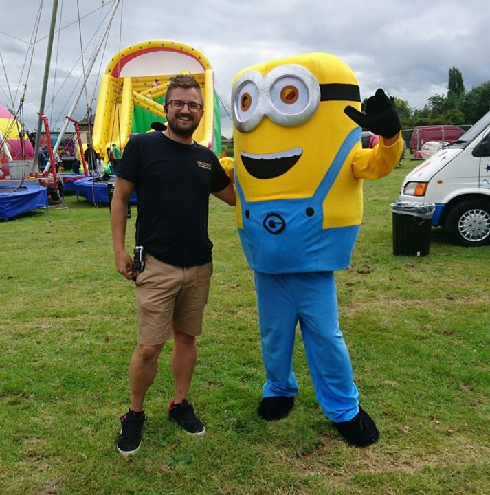 Steve of SMC Events with a minion